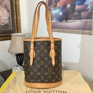 Louis Vuitton Bucket Shoulder Bag 💼 FL0011
